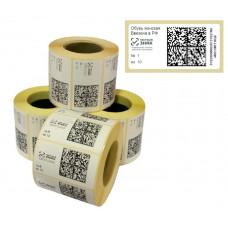 Печать кодов для маркировки (остатки)