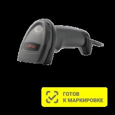 Проводной 2D сканер штрихкода АТОЛ SB2108 Plus  (USB, чёрный, без подставки)